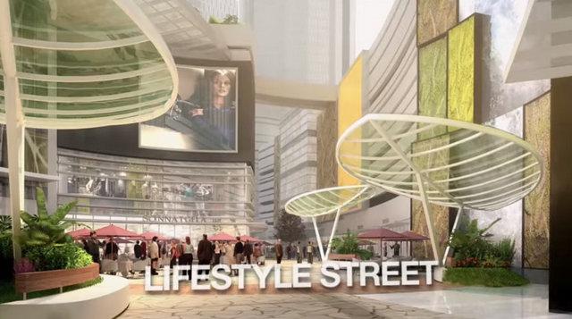 Bukit Bintang City Centre Lifestyle Street