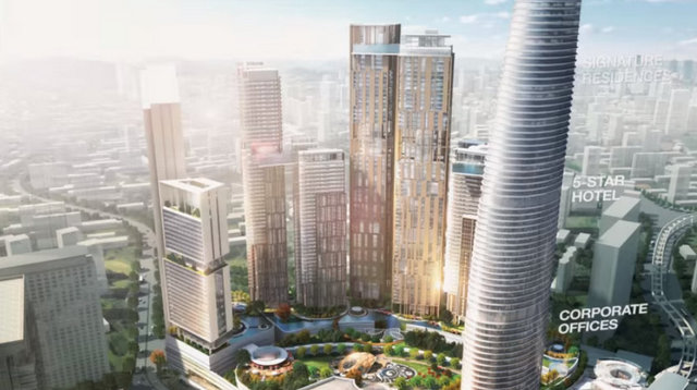 Bukit Bintang City Centre Signature Tower