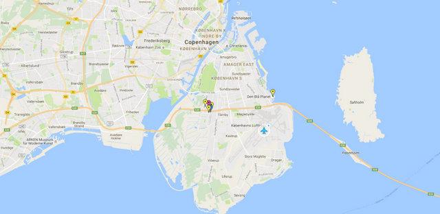 Copenhagen International Airport Map