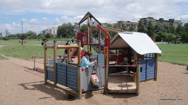 Playground in Malmo