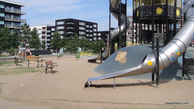 Varvsparken Malmö - playground near Turning Turso