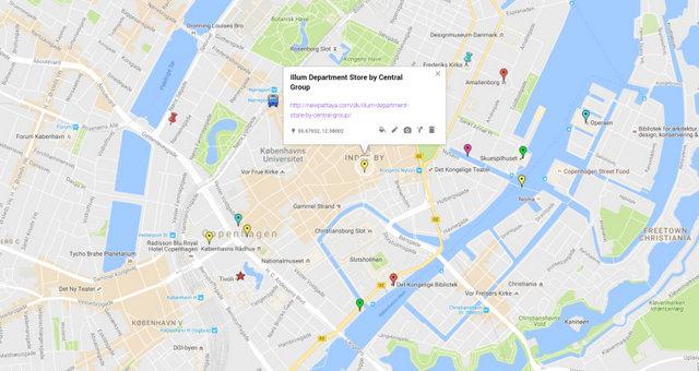 Illum Department Store Map