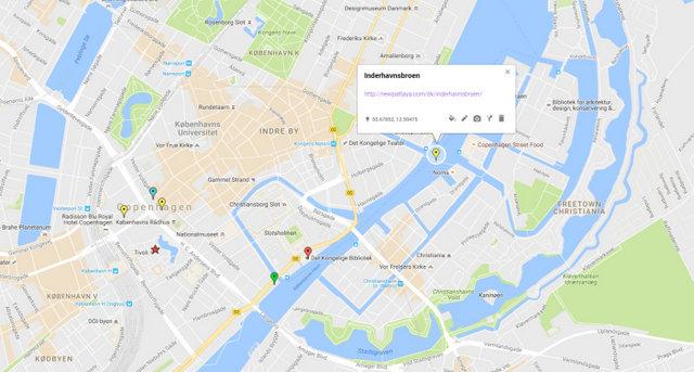 Inderhavnsbroen Map
