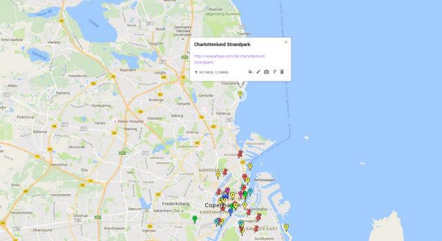 charlottenlund-strandpark-map