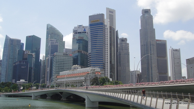 Jubilee Bridge Singapore