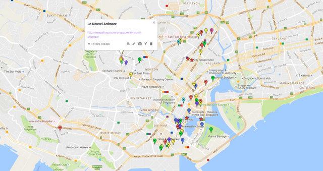 Le Nouvel Ardmore Map