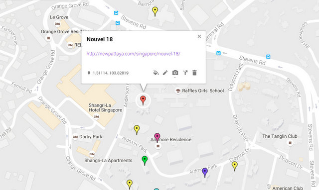 Nouvel 18 Map