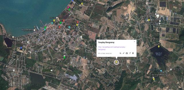 Sunplay Bangsaray Map
