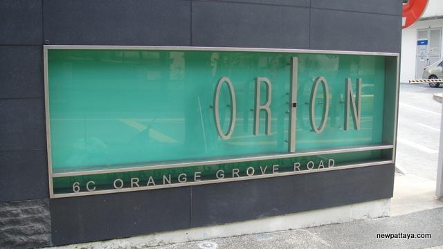 Orion Orange Grove Road
