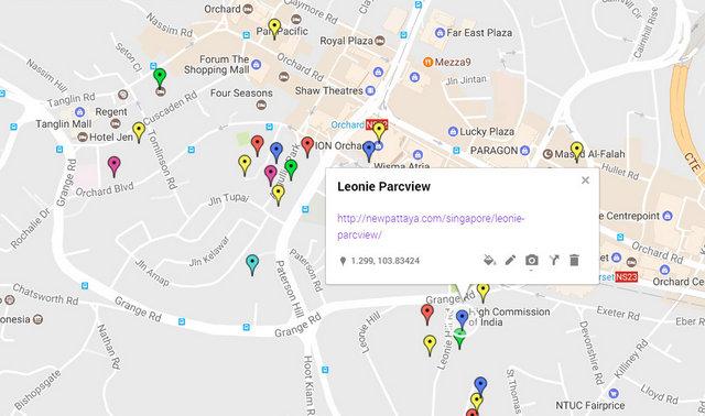 Leonie Parcview Map