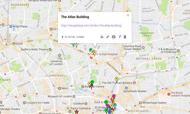 The Atlas Building Map