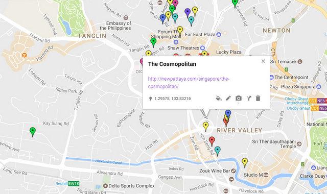 The Cosmopolitan Map