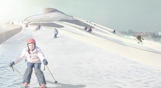 Copenhagen Ski Slope Amager Bakke