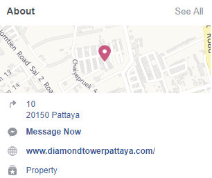 Diamond Tower Pattaya Google Facebook