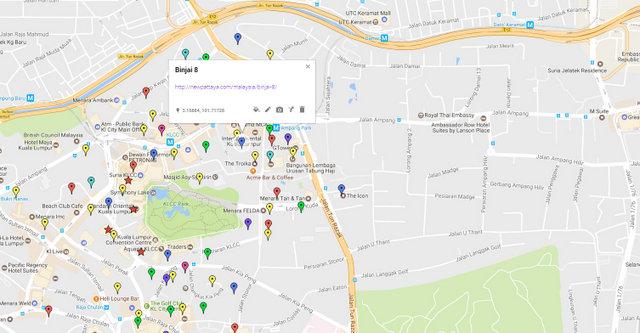 Binjai 8 Map
