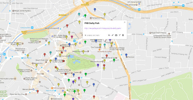 PNB Darby Park Map