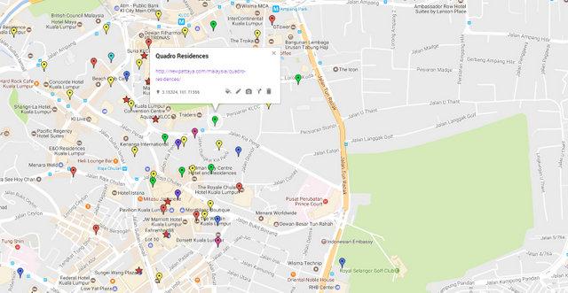 Quadro Residences Map