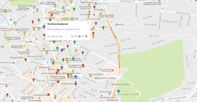 The Ruma Kuala Lumpur Map