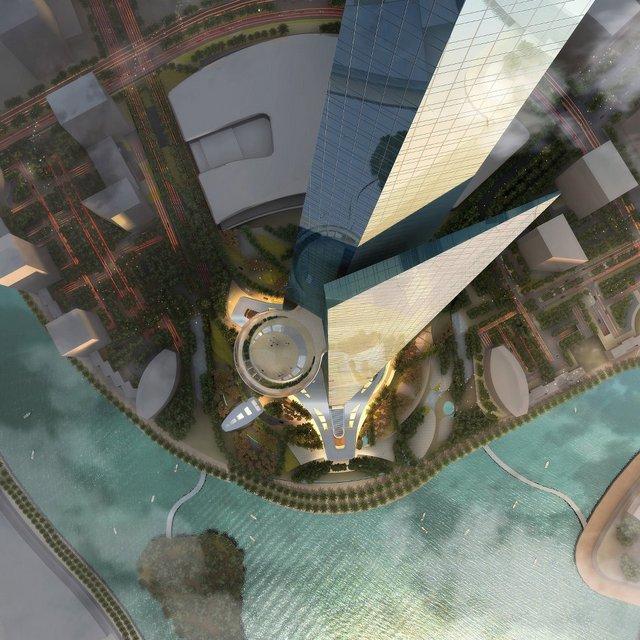Jeddah Tower - Kingdom Tower
