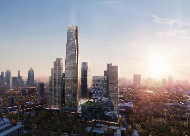 One Bangkok development project by TCC Group 03