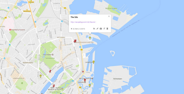 The Silo Copenhagen Map